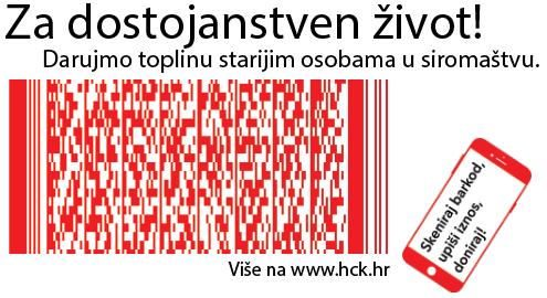 Skenirajte kod i donirajte programu Za dostojanstven život!